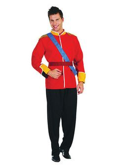 Buy Adult Royal Prince Costume, available for Next Day Delivery. This Royal Costume is Fit for a King! Attend your Next British Fancy Dress Party as the Heir to the Throne, Prince William, with our Adult Royal Prince Costume.Outfit i . Costumes For Sale, Adult Costumes, Prince Charming Fancy Dress, Costume Prince, Fairy Tale Costumes, Prinz William, Celebrity Costumes, Royal Prince, Wedding Costumes