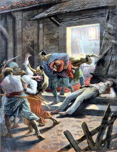 Chinese boxer pillaging Beijing, Boxers Rebellion