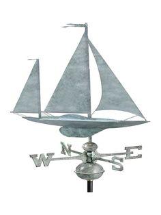 Sail Away Standard Weather Vane