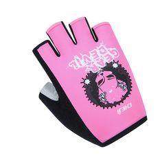 Cycling Queen Half Finger Gloves