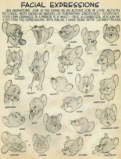 Facial expressions. Uitdrukkingen die juist emotie goed weergeven. Humoristisch beelden leveren dit op.