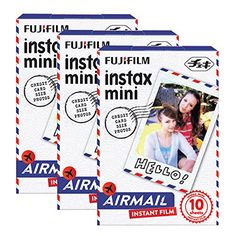 Fujifilm Instax Mini Airmail 30 Film for Fuji 7s 8 25 50s 90 300 Instant Camera Share SP1 *** Check out this great product.