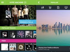 Hype Machines app for iPhone is one of our new favorite music discovery apps. The app pulls in music from blogs and artists from around the world.  Its easy to listen to the most popular tracks of the day and find new songs you love.   Hype Machine also picks an album each week that you can stream in its entirety before you buy it. Best of all, there arent any ads or monthly fees