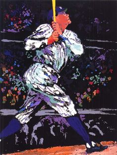 """Babe Ruth"" by LeRoy Neiman"