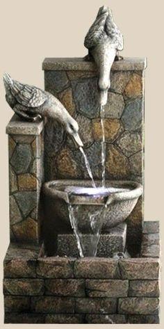 Duck Water Fountain #Duck #Water #Fountain #lienhoanmy