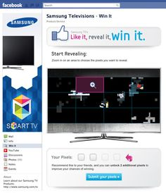 """Samsung - """"Like It, Reveal It, Win It"""" Driving Engagement and Sharing"""