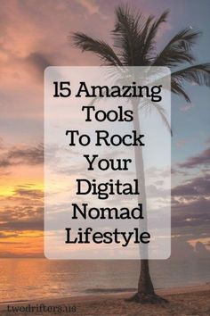 15 Amazing Tools To Rock Your Digital Nomad Lifestyle Remote jobs ideas and career Travel Jobs, Work Travel, Travel Careers, Travel Hacks, Travel Guides, Work Abroad, Exterior, Traveling By Yourself, Travel Inspiration