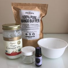 With My Own Two Hands: DIY Mango body butter - a luxurious Mango Body Butter recipe using Mango Butter from Bettersheabutter.com!
