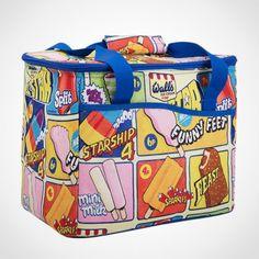 Wall's Ice Cream Family Cool Bag at Ocado Picnic Bag, Picnic Time, Ice Cream Cooler, Walls Ice Cream, Picnic Essentials, Mini Milk, Retro Design, Beautiful Bags, Fashion Bags