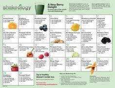 Greenberry Shakeology Calendar www.myshakeology.com/amyhuston