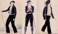 Habit-du-basque-makhila-qui-n-est-pas-baton-de-berger Costume, Basque Country, Costumes, Fancy Dress