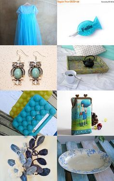 Light Blue by Laura P. on Etsy--Pinned with TreasuryPin.com