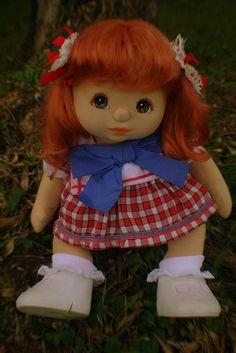 My Child Doll  --- Aussie girl with red hair vpart