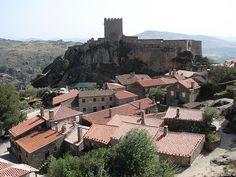 Castelo de Sortelha na Aldeia Histórica de Sortelha, Sabugal