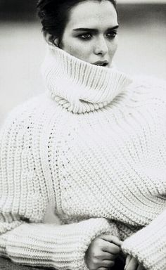 In need of the perfect oversized turtleneck.