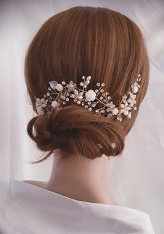 Vid de pelo pedazo de cabeza de novia oro accesorio del pelo