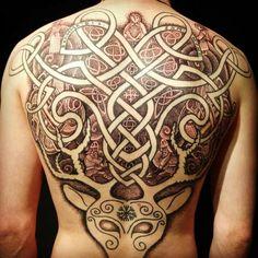 Nordic Handpoking Tattoo