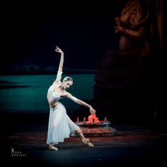 "Polina Semionova in the Mikhailovsky Ballet's ""La Bayadere"" - photo by Jack Devant American Ballet Theatre, Ballet Theater, Polina Semionova, La Bayadere, Dance All Day, Russian Ballet, Ballet Photos, Dance Movement, Shall We Dance"