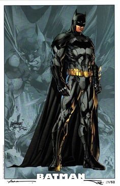 "kalelsonofkrypton: "" Batman by Jim Lee. "" - visit to grab an unforgettable cool 3D Super Hero T-Shirt!"