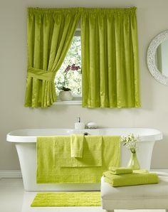 HomeChoice Plain Dyed Lime Bathroom Set Homechoiceco