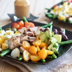 Cobb Style Green Bean Salad