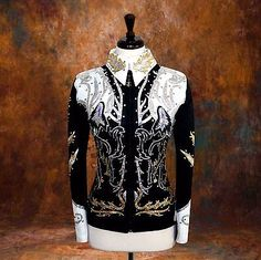 Other Rider Clothing 3167: Medium Showmanship Pleasure Horsemanship Show Jacket Shirt Rodeo Queen Rail -> BUY IT NOW ONLY: $239.98 on eBay!