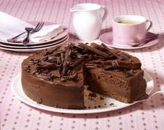 The recipe for chocolate cake and other free recipes at LECKER.de The recipe for chocolate cake and other free recipes at LECKER. Torte Au Chocolat, Ultimate Chocolate Cake, Cake Chocolate, Torte Recipe, Torte Cake, Cake Mixture, Cake Tins, Food Cakes, Sweet Bread