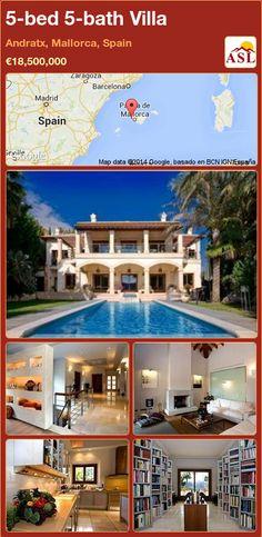 5-bed 5-bath Villa in Andratx, Mallorca, Spain ►€18,500,000 #PropertyForSaleInSpain