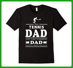 Mens I Am A Tennis Dad Funny Fathers Day Gifts T-Shirt Medium Black - Sports shirts (*Amazon Partner-Link)