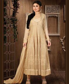 Buy Admirable Pearl White Anarkali Salwar Kameez online at  https://www.a1designerwear.com/admirable-pearl-white-anarkali-salwar-kameez  Price: $40.76 USD