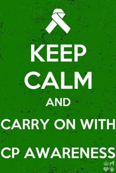 Carry on with cerebral palsy awareness