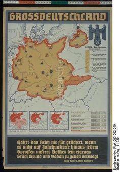 Third Reich Propaganda Postcard Says Hitler Jugend The - Third reich map 1944
