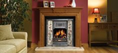 Top stunning fireplace tile ideas for your living room design. This types of tile is capable of enduring extremely hard temperatures for a heat resistance. Living Room Paint, Feature Wall Living Room, Living Room Red, Fireplace Feature Wall, Snug Room, House Interior, Victorian Fireplace Tiles, Living Room Inspiration, Fireplace Tile