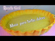 Masa para tartas dulces RECETA FACIL - YouTube Pan Dulce, Empanadas, Sin Gluten, Pie Dish, Scones, Bakery, Muffin, Food And Drink, Lunch