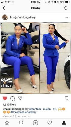 Here are some of an amazing beautiful corporate outfits at the moment ladies show try out. Corporate Outfits, Corporate Fashion, Business Casual Outfits, Office Outfits, Classy Work Outfits, Chic Outfits, African Fashion Dresses, Modern African Dresses, Professional Outfits