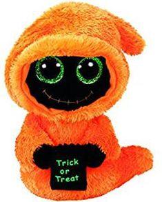 4ed23c8616f Ty Beanie Babies Boos 36854 Seeker Orange Reaper Halloween Boo NWT  Ty