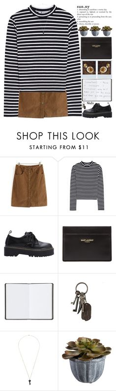 """""""i hope one day you wake up and feel better about everything"""" by alienbabs ❤ liked on Polyvore featuring T By Alexander Wang, Polaroid, Yves Saint Laurent, Harrods, AllSaints, Kristin Hanson, Crate and Barrel, women's clothing, women and female"""
