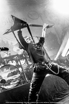 Alexi Laiho of Finnish melodic death metal band Children of Bodom