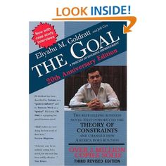 The Goal: A Process of Ongoing Improvement (9780884271789): Eliyahu M. Goldratt, Jeff Cox, David Whitford: Books