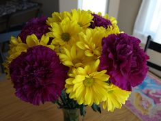 Carnations & Daisies