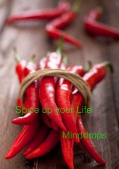 Spice up your life. www.minddrops.nl