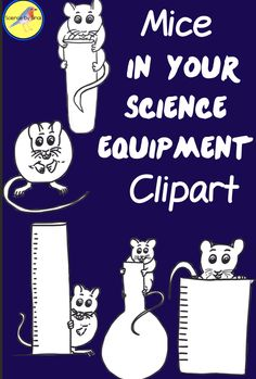 Mice in Your Science Equipment Glassware Mouse Clipart Science Resources, Science Lessons, Teaching Science, Science Labs, Teacher Resources, Teaching Ideas, Science Ideas, Middle School Science, Elementary Science