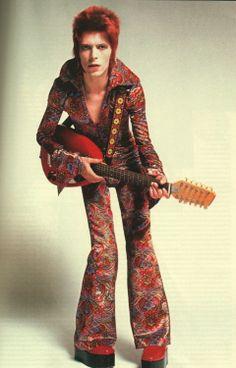 Bowie - ziggy stardust 40 years