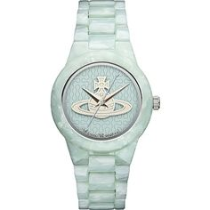 VIVIENNE WESTWOOD - VV075BLBL resin watch | Selfridges.com