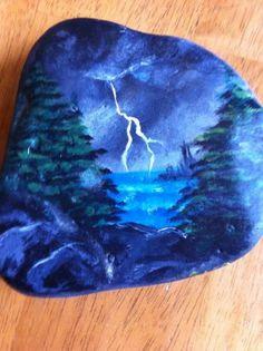 Paint on rocks
