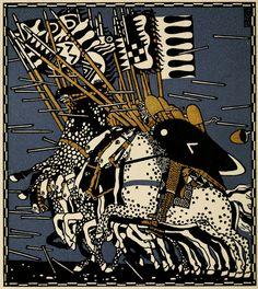 """master-painters: """"Carl Otto #Czeschka - Illustrations for Die Nibelungen - 1920 """" #czech #painter"""