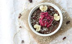 Verity Nutrition, gluten free dairy free  chocolate goji chia pudding Most Nutritious Foods, Dairy Free Chocolate, Hemp Seeds, Chia Pudding, Acai Bowl, Berry, Gluten Free, Nutrition, Breakfast