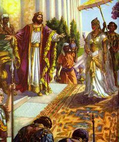 Hilando: Rey Salomón y Reina de Saba