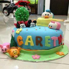 Disney tsumtsum cake