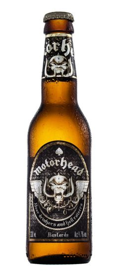 MOTÖRHEAD Launches World's First Real Rock Beer: Bastards Lager